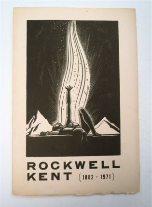 A Select Group of Graphics by Rockwell Kent (1882-1971), November 3, - November 30, 1974....