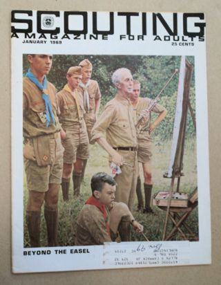 """Beyond the Easel."" In ""Scouting: A Magazine for Adults"" Norman ROCKWELL"