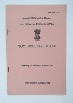 Toy Industry, Gokak. ALL INDIA HANDICRAFTS BOARD