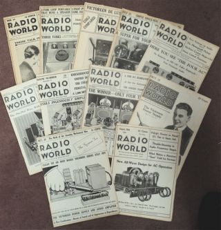 RADIO WORLD: AMERICA'S FIRST AND ONLY NATIONAL RADIO WEEKLY