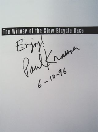 The Winner of the Slow Bicycle Race: The Satirical Writings of Paul Krassner