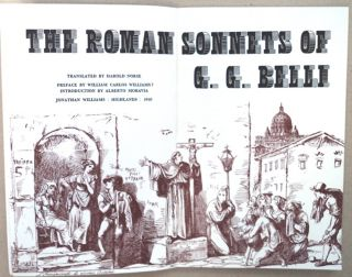 The Roman Sonnets of G. G. Belli