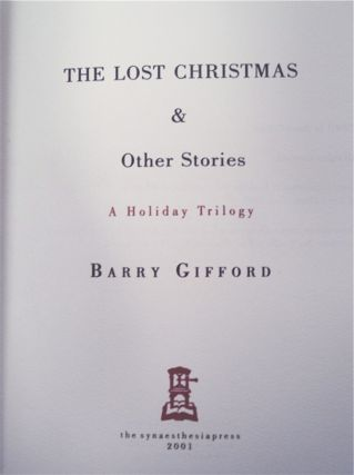 The Lost Christmas & Other Stories: A Holiday Trilogy