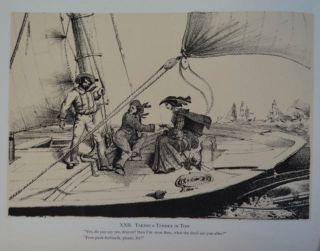 Mr. Hardy Lee, His Yacht: Being XXIV Sketches on Stone