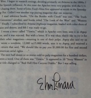 An Excerpt from The Complete Western Stories of Elmore Leonard