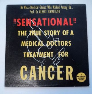 """Cancer"": A True Story (cover title: !!Sensational!!: The True Story of a Medical Doctors [sic]..."