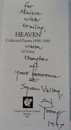 Heaven: Collected Poems 1956-1990