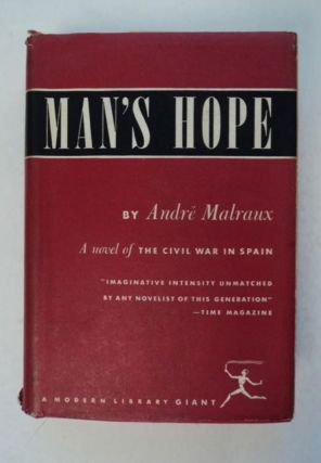 Man's Hope. André MALRAUX